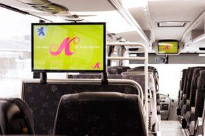 Norway DOOH video bus