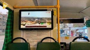 Kyiv digital signage bus