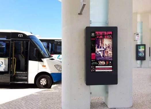 Portugal DOOH Bus Stop